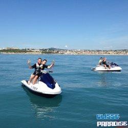 Rando Jet Ski & Vol en parachute Nice Antibes