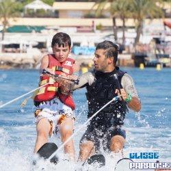 Leçon Accompagnée ski nautique Nice Antibes