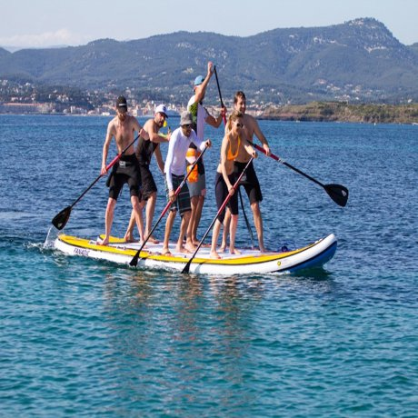 Paddle Géant XXL 4 personnes