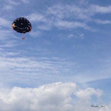 Vol En Parachute wake spot