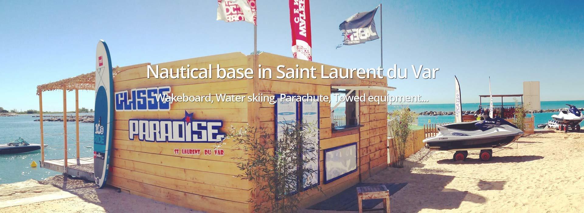 Nautical base in Saint Laurent du Var