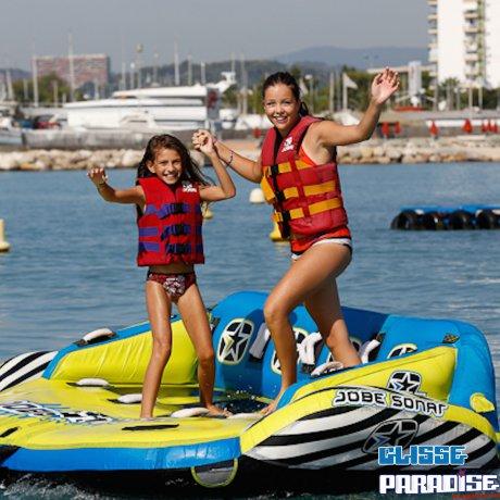 Pack Vitesse en duo: Baptême en Jet ski et tour en bouées