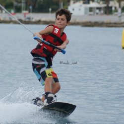 Tour en wakeboard