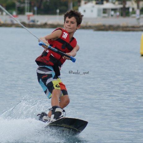 Tour en wakeboard